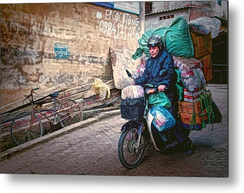 Vietnam Metal Print featuring the photograph Loaded by Claude LeTien