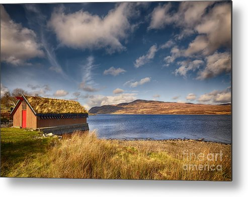Loch Hope Metal Print featuring the photograph Loch Hope by Smart Aviation