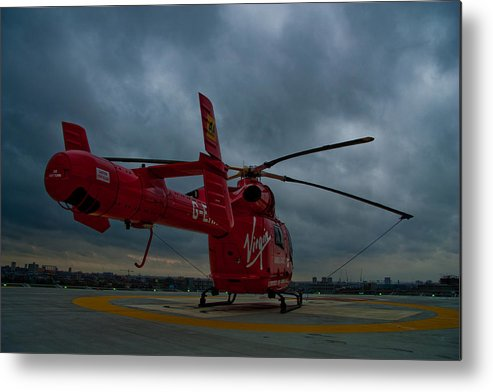 Air Ambulance Metal Print featuring the photograph London Air Ambulance by Dawn OConnor