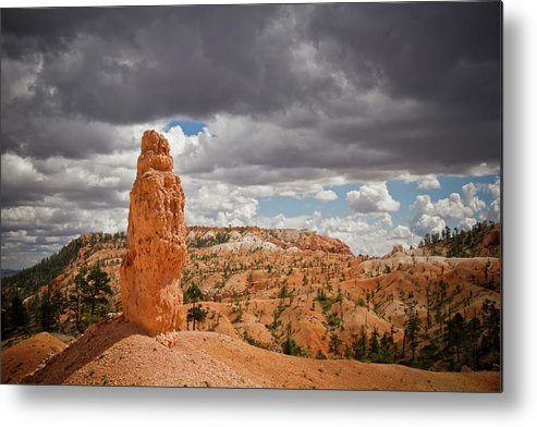 Bryce Metal Print featuring the photograph Bryce Lone Spire by Amelia Durham