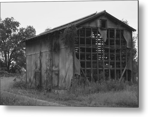 Lanscape Metal Print featuring the photograph Long Forgotten by Mike Farmer