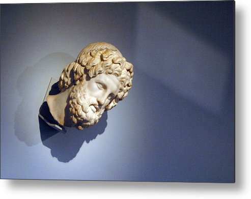 Jez C Self Metal Print featuring the photograph Looking Out Of The Blue by Jez C Self