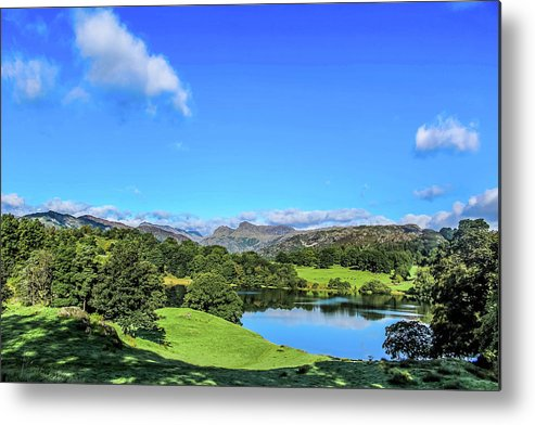 Loughrigg Tarn Metal Print featuring the photograph Loughrigg Tarn by Philip Salisbury