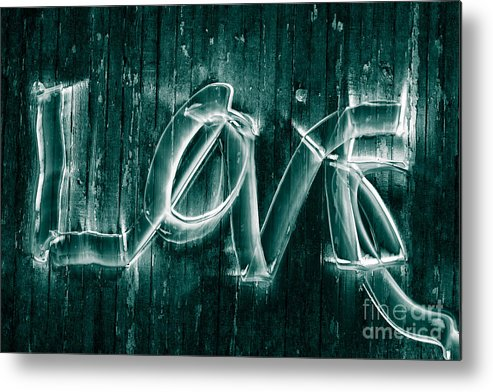 Love Metal Print featuring the photograph Love by David Rucker