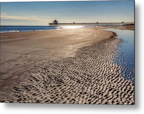Charleston Metal Print featuring the photograph Low Tide by Drew Castelhano