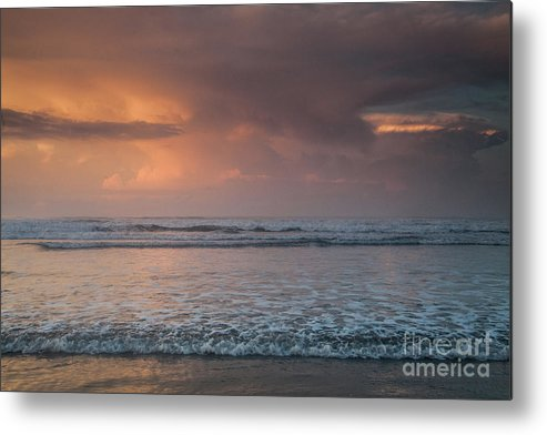 Cloud Metal Print featuring the photograph Low Tide by Iris Greenwell