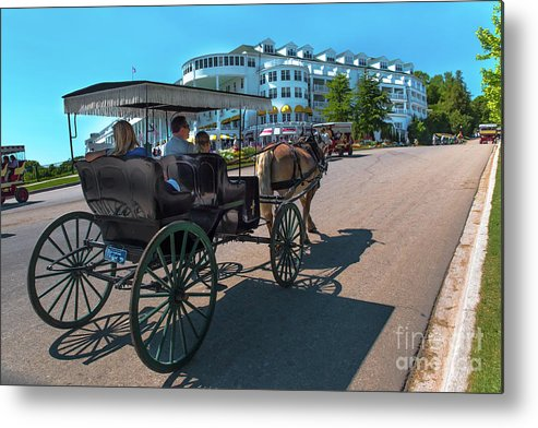 Mackinac Island Metal Print featuring the photograph Mackinac Island Grand Hotel -2659 by Norris Seward