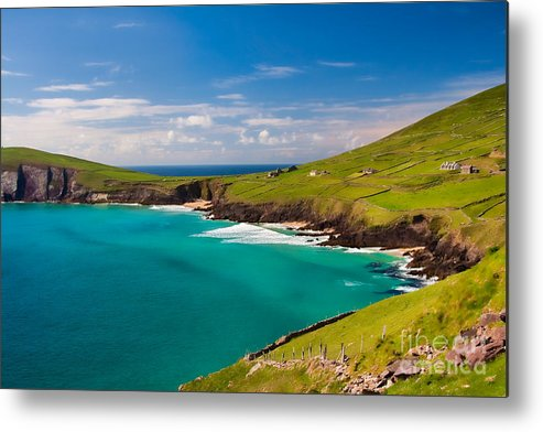 Ireland Metal Print featuring the photograph Magic Lands by Gabriela Insuratelu