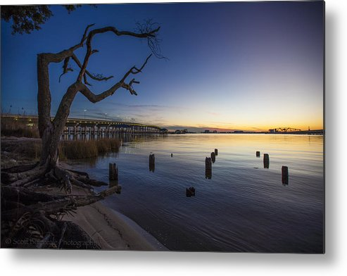 Nature Metal Print featuring the photograph Magical Sunset II by Scott Breazeale