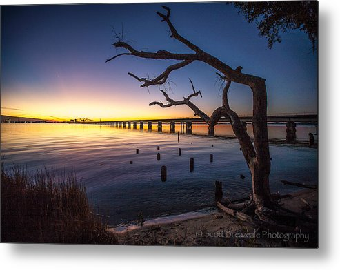 Nature Metal Print featuring the photograph Magical Sunset by Scott Breazeale