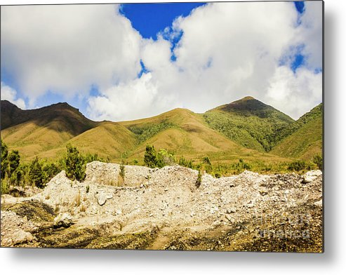 Tasmania Metal Print featuring the photograph Majestic Rugged Australia Landscape by Jorgo Photography - Wall Art Gallery