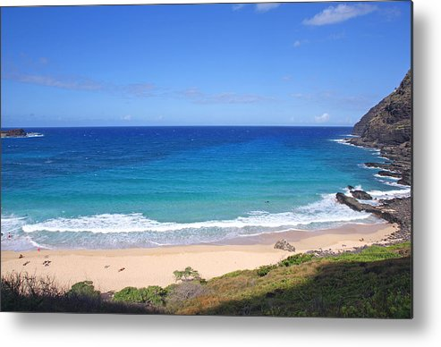 Hawaii Metal Print featuring the photograph Makapuu Beach by Kevin Smith