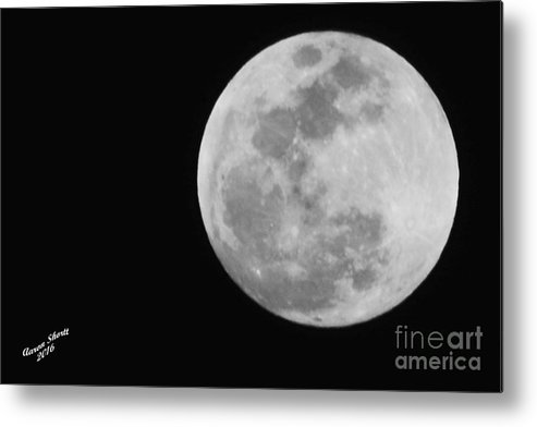 Sky Metal Print featuring the photograph Man In The Moon by Aaron Shortt