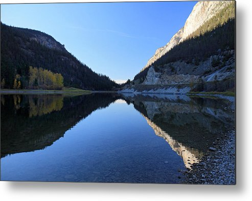 Marble Metal Print featuring the photograph Marble Canyon British Columbia by Pierre Leclerc Photography