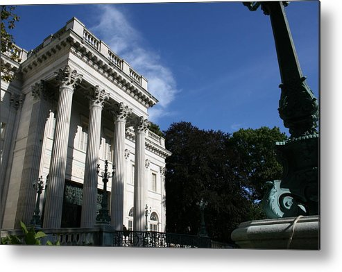 Marble House Metal Print featuring the photograph Marble House by Jeff Porter