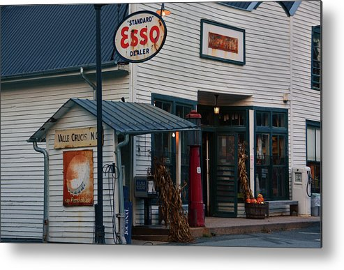 Mast Genereal Store Metal Print featuring the photograph Mast General Store by Ben Prepelka
