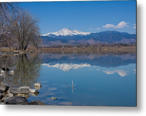 Lake Metal Print featuring the photograph Mcintosh Lake Reflections by James BO Insogna