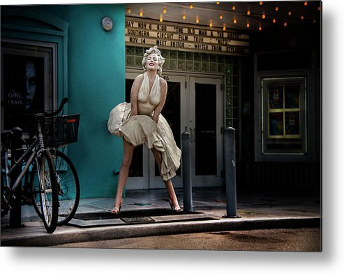 Marilyn Metal Print featuring the photograph Meet Marilyn by Heather Allen