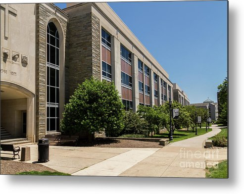 Vu Metal Print featuring the photograph Mendel Hall by William Norton