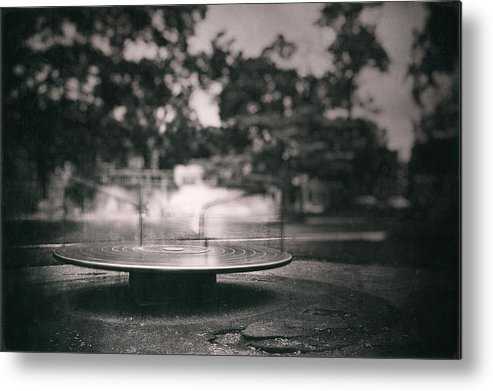 Playground Metal Print featuring the photograph Merry Go Round by Scott Norris