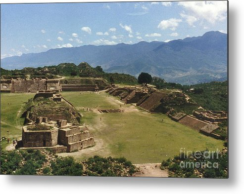 American Indian Metal Print featuring the photograph Mexico: Monte Alban by Granger