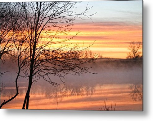Mist Metal Print featuring the photograph Misty Morning by Laurie Prentice