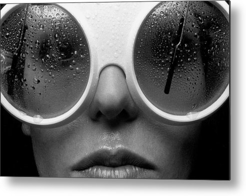 Babe Metal Print featuring the photograph Misty by Sandy Ostroff
