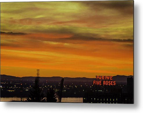 Montreal Metal Print featuring the photograph Montreal Sunrise 2 by Steven Richman