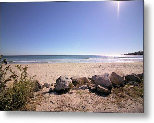 Beach Metal Print featuring the photograph Morning At Qgunquit Beach 2. by Robert McCulloch