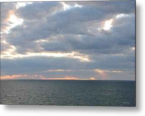 Sky Metal Print featuring the photograph Morning Seascape by Bill Perry