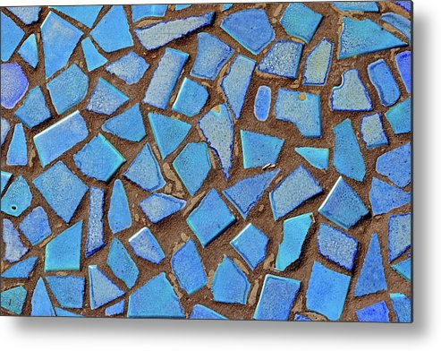 Mosaic Metal Print featuring the photograph Mosaic No. 31-1 by Sandy Taylor