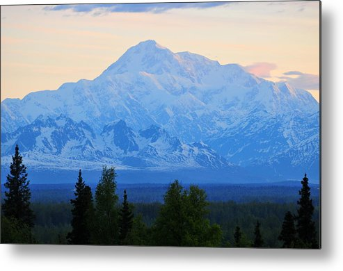 Mount Mckinley Metal Print featuring the photograph Mount Mckinley by Keith Gondron