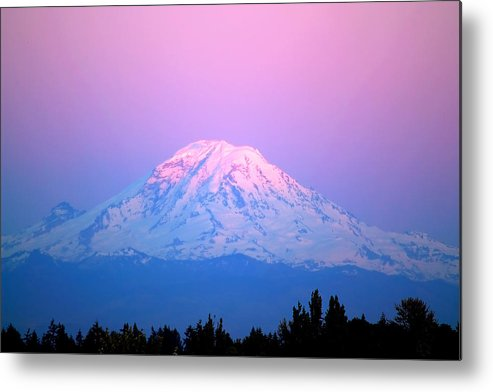 Mount Rainier Metal Print featuring the photograph Mount Rainier by Richard Steinberger
