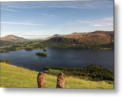 Landscape Metal Print featuring the photograph Mountain Relaxation by Christopher Carthern