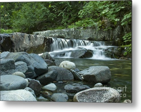 Stream Metal Print featuring the photograph Mountain Stream by Idaho Scenic Images Linda Lantzy