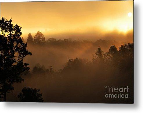 Sunrise Metal Print featuring the photograph Mountain Sunrise by Thomas R Fletcher