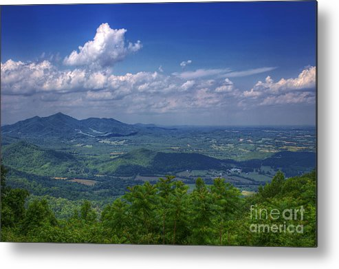 Mountain Metal Print featuring the photograph Mountain Veiw by Travis Helm