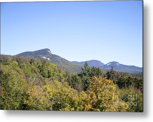 New England Photography Metal Print featuring the photograph Mountain View by Michael Mooney