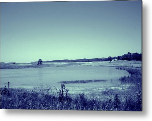 Landscape Metal Print featuring the photograph My Kinda Country by Nina Fosdick