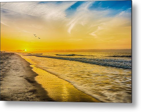 Myrtle Beach Metal Print featuring the photograph Myrtle Beach by Ahmed Shanab