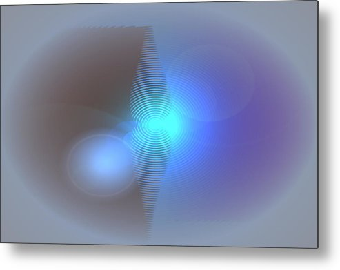 Metal Print featuring the digital art Mystery by Andreas R Wesener