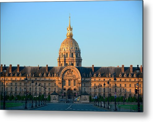 Paris Metal Print featuring the photograph Napoleon's Tomb by Songquan Deng