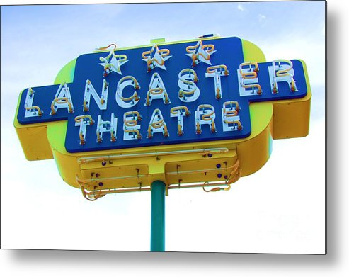 Sign Metal Print featuring the photograph Neon by Debbi Granruth