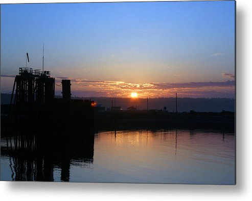 Sunrise Metal Print featuring the photograph New Beginnings - Keystone Sunrise Sr 1003 by Mary Gaines