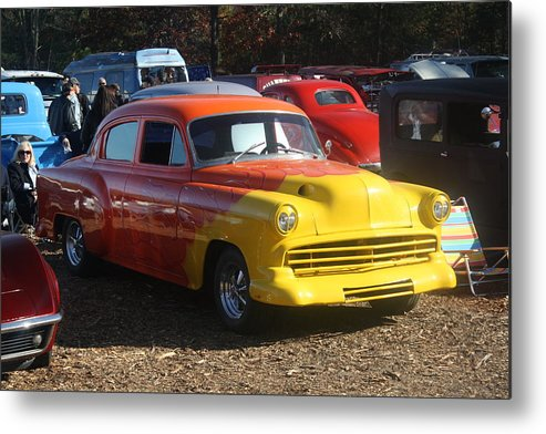 Hot Rod Metal Print featuring the photograph New Car Smell by Kevin Sherf
