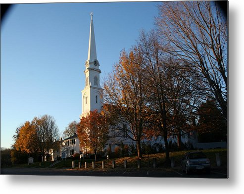 Landscape Metal Print featuring the photograph New England by Doug Mills