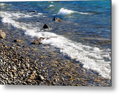 New Zealand Metal Print featuring the photograph New Zealand 3488 by PhotohogDesigns