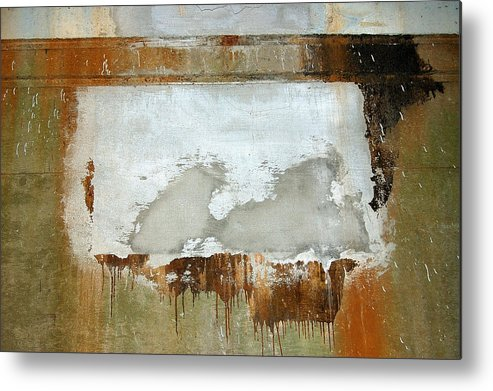 Abstract Metal Print featuring the photograph Nj Abstract Two by Heather S Huston