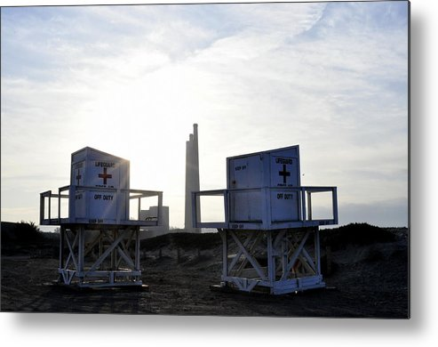 Landscape Metal Print featuring the photograph Not On Duty by Shannon Nickerson