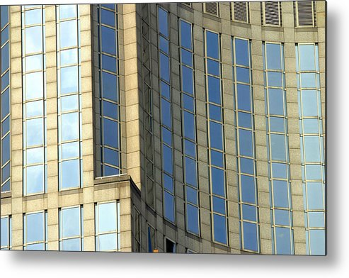 Nyc Metal Print featuring the photograph Nyc Architecture by Chuck Kuhn